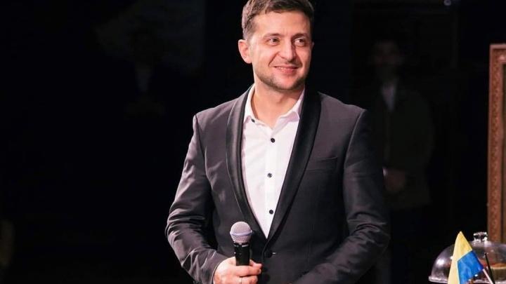 У Зеленского — больше 70% голосов: юморист обогнал действующего президента Украины на выборах