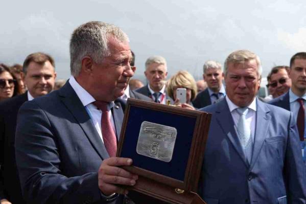 Глава Таганрогского авиационного комплекса имени Бериева Юрий Грудинин пошел на повышение