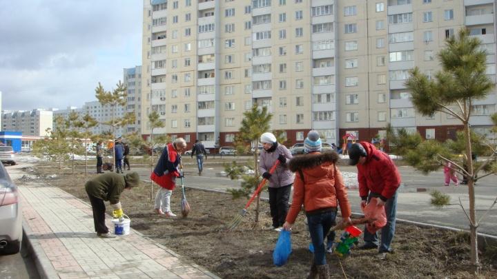 Весна начинается с субботника: жителей Плющихинского призывают навести порядок