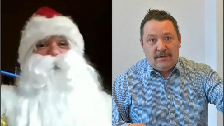 «Он был нетрезв и приставал»: директор ЦПКиО объяснил, почему охрана выгнала Деда Мороза из парка