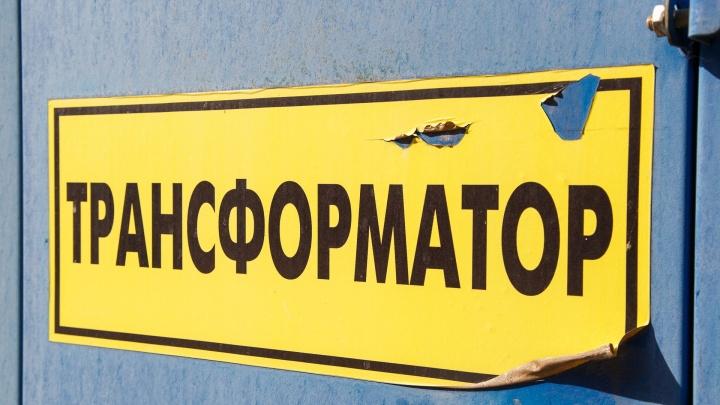 В Волгограде десятки домов остались без света