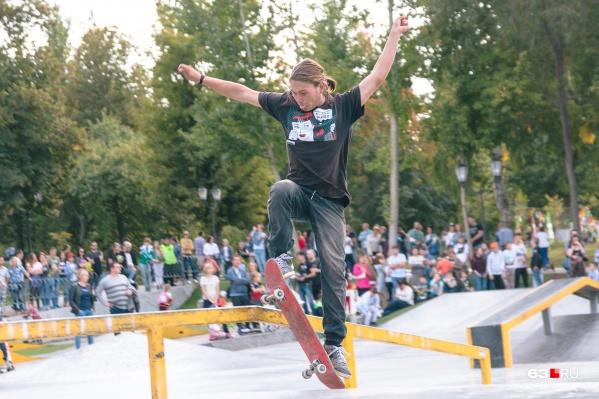 Сейчас в Самаре есть только один скейт-парк — в Струковском саду