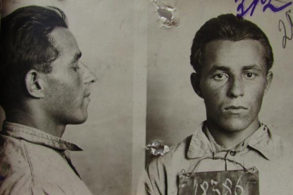 Налётчик в буденовке с красной звездой Василий Харьковский был расстрелян в 1926 году