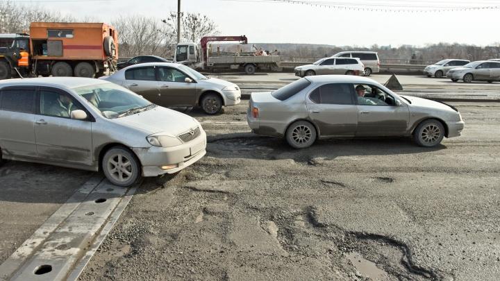Автоинспекторы назвали самые разбитые дороги Новосибирска