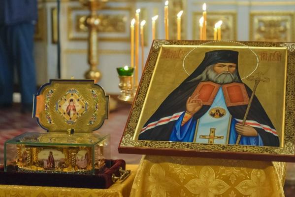 Мощи святителя Луки покоятся в Симферополе в Соборе Святой Троицы