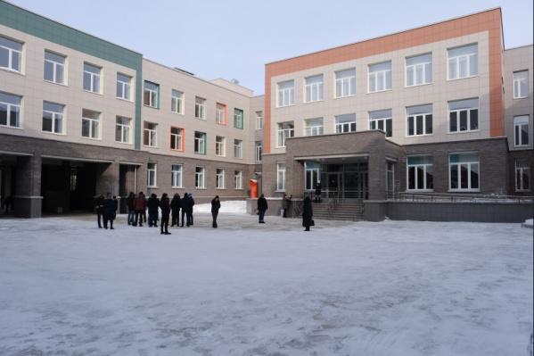Новый лицей «Технополис» расположился на улице Молодёжная, 7 в Кольцово