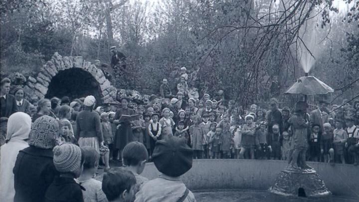 Как менялись зонтики у знаменитого фонтана в «Струкачах»: публикуем фото Самары полувековой давности