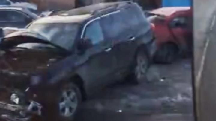 «Mazda попала под встречку»: последствия страшного ДТП в Челябинске попали на видео