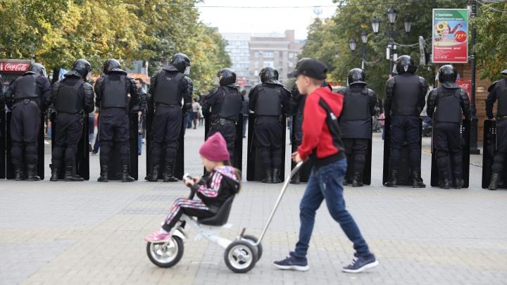 Челябинский митинг против закона о пенсии в 30 фотографиях