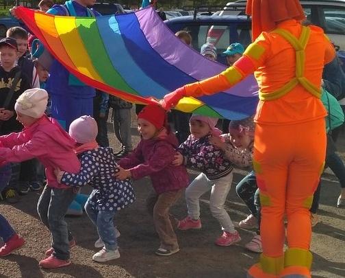 Детский праздник под «флагом геев» возмутил красноярцев
