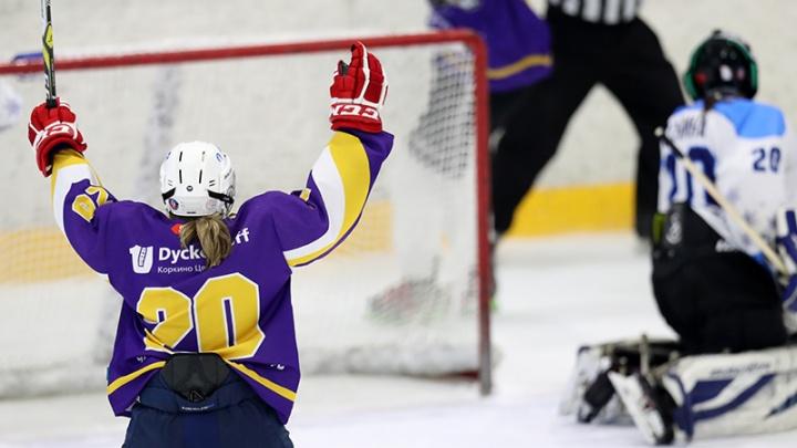 «Готовились очень серьёзно»: южноуральские хоккеистки выиграли золото «Олимпийских надежд»