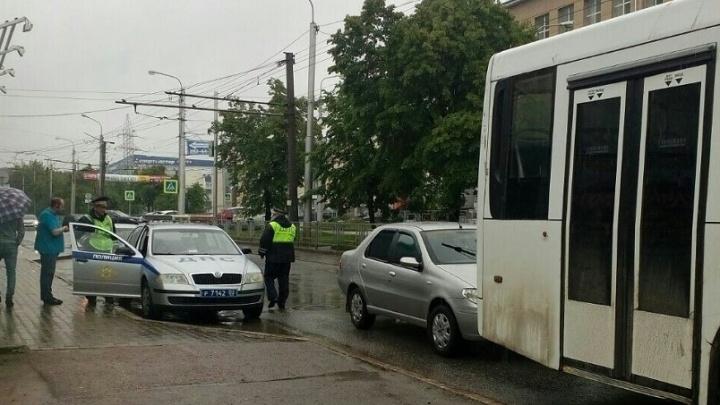 В Уфе произошло ДТП: пострадали двое детей