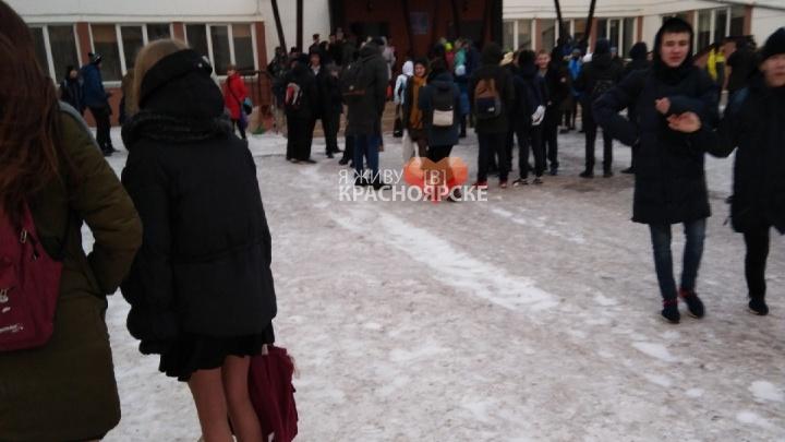 Массовая эвакуация людей в Красноярске: итоги дня