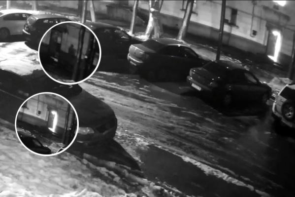 Пожар на улице Зелинского в Ярославле попал на видео