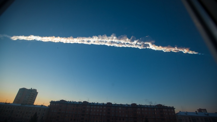 Ретро-игра «Спаси Омск» в честь пятилетия Челябинского метеорита