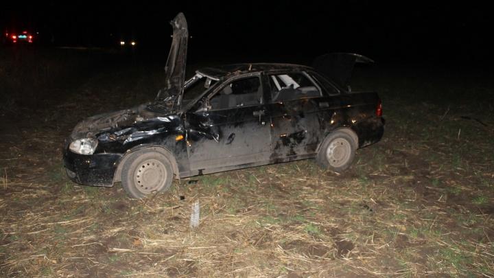 Опрокинул машину в кювет: в Башкирии пьяный водитель погубил двоих пассажиров
