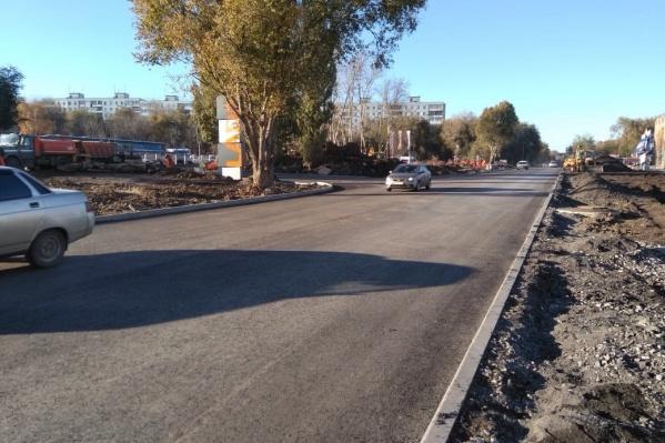 После ремонта на Черемшанской дорогу отремонтируют также как на Алма-Атинской