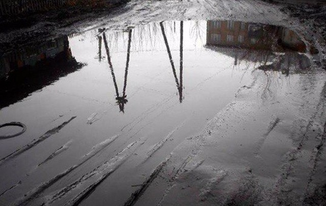 В Башкирии дорога в село ушла под воду