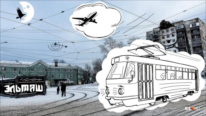 Каждая точка маршрута сопровождается художественными иллюстрациями