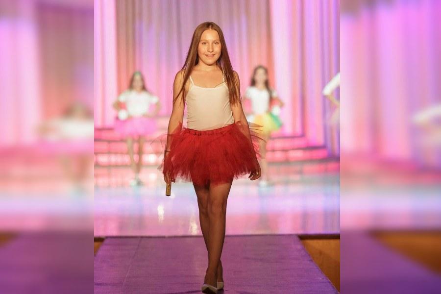 Марии Потылициной 13 лет, и она уже была финалисткой конкурса «Фотомодель Красноярска 2017» и «Мини мисс и мистер Красноярск»