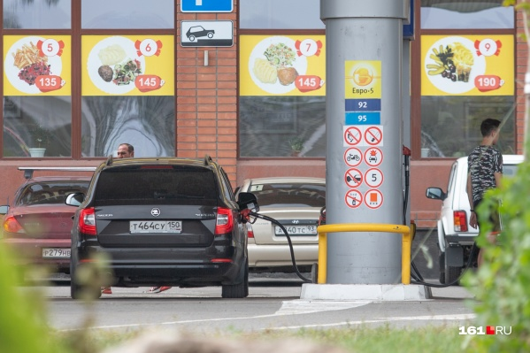 Цена на бензин за полгода выросла на 2,2%