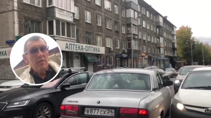 «Я полковник милиции!»: водители заблокировали пьяного мужчину на «встречке»