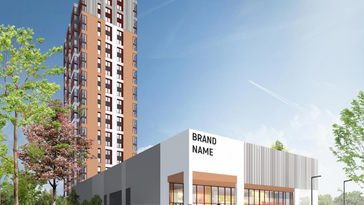 Финская компания показала проект 25-этажки, которую построит рядом с железнодорожным вокзалом