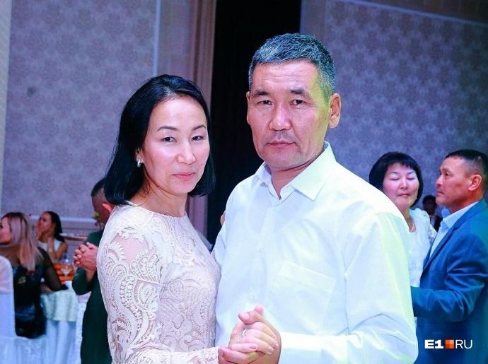 Камчыбек Каримов с супругой