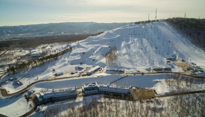 На «Сопке» открыли горнолыжную трассу для массового катания