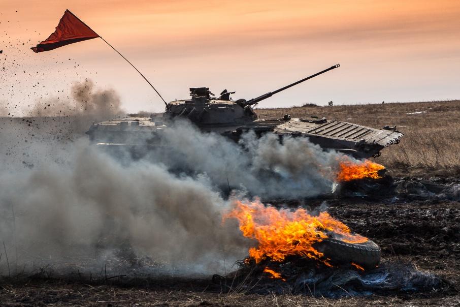 В соревнованиях принимают участие танкисты Урала, Сибири и Поволжья