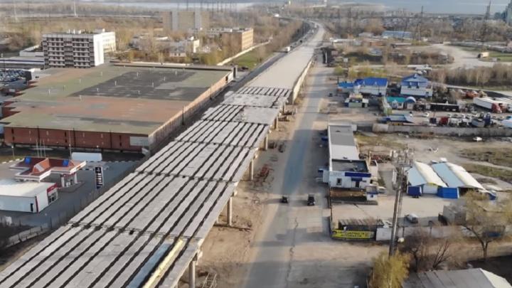 Дорога, уходящая в горы: оцениваем строительство трехуровневой развязки у Жигулевской ГЭС