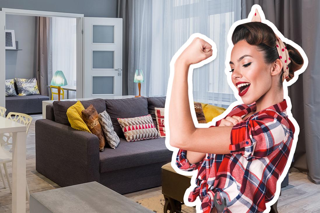 Сильная женщина vs проблемная квартира