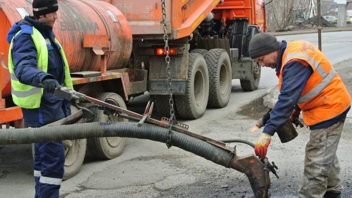 За первые дни марта в Екатеринбурге заделали ямы на четырёх улицах