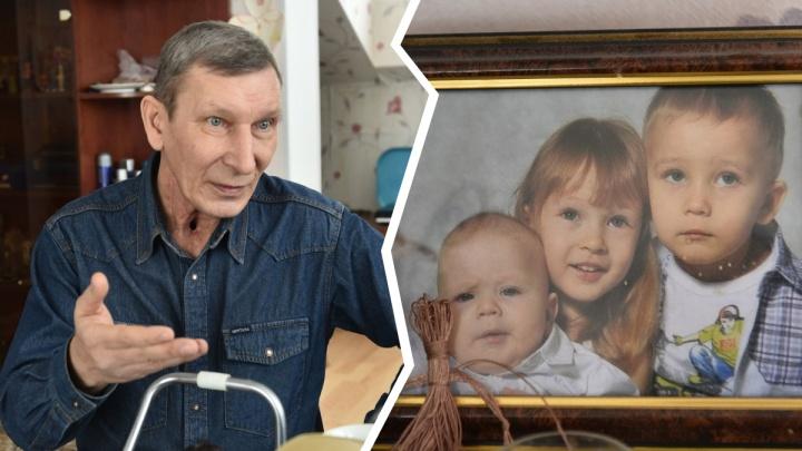 Отец-одиночка из Екатеринбурга победил рак ради детей, но остался без голоса и с трубкой в горле