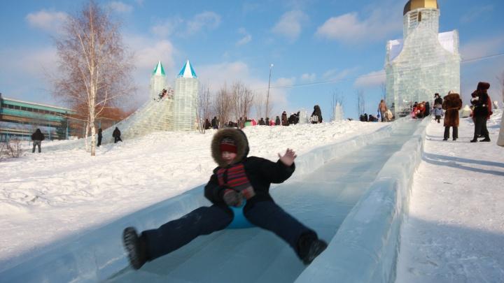 Мэр: ледовый городок на набережной поставят, несмотря на хрупкий тротуар