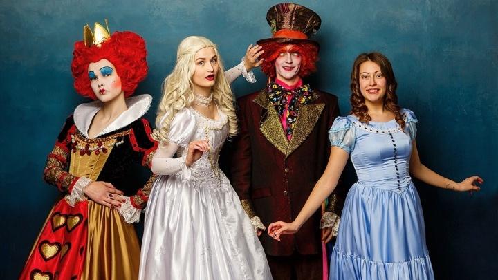 По мотивам любимой сказки: детей зовут на невероятный праздник с героями «Алисы в Стране чудес»