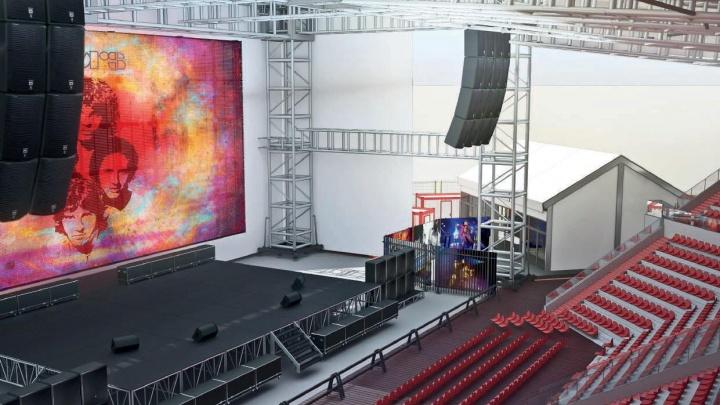 Цирк и музыка: появились эскизы концертного зала, который построят около «Самара Арены»