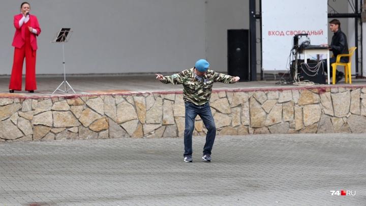 Пошли на взлёт: смотрим дюжину самых убойных фотографий с празднования Дня ВДВ в Челябинске