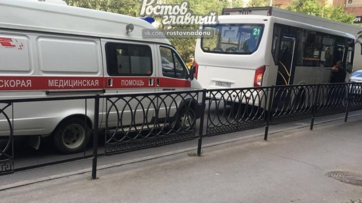 В ростовской маршрутке умер пенсионер