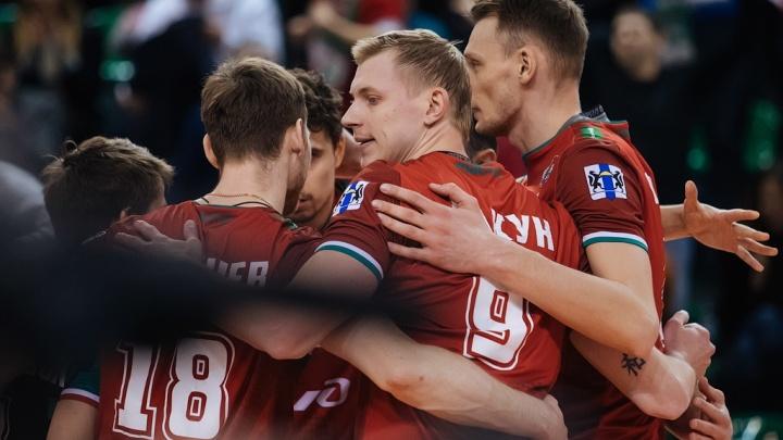 Волейбол:«Локомотив» проиграл питерскому«Зениту»