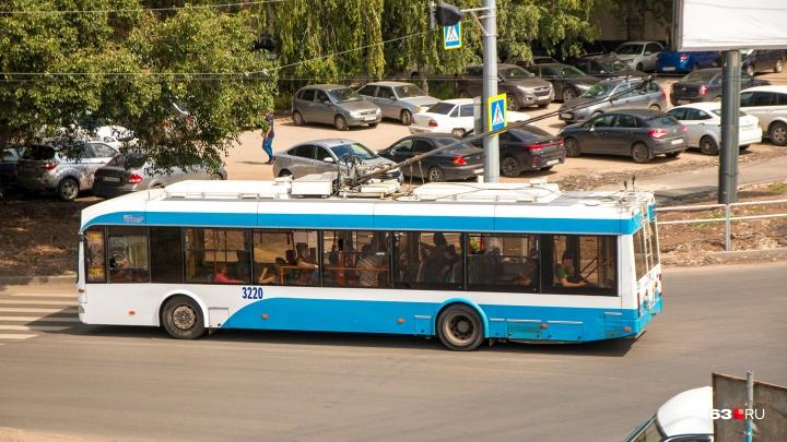Стало известно, когда по Шоссейной в Самаре пустят троллейбусы