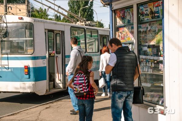 6-й троллейбус уже курсирует по Куйбышева