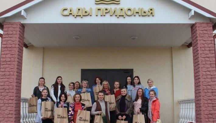 Волгоградские мамы побывали на производстве детского питания