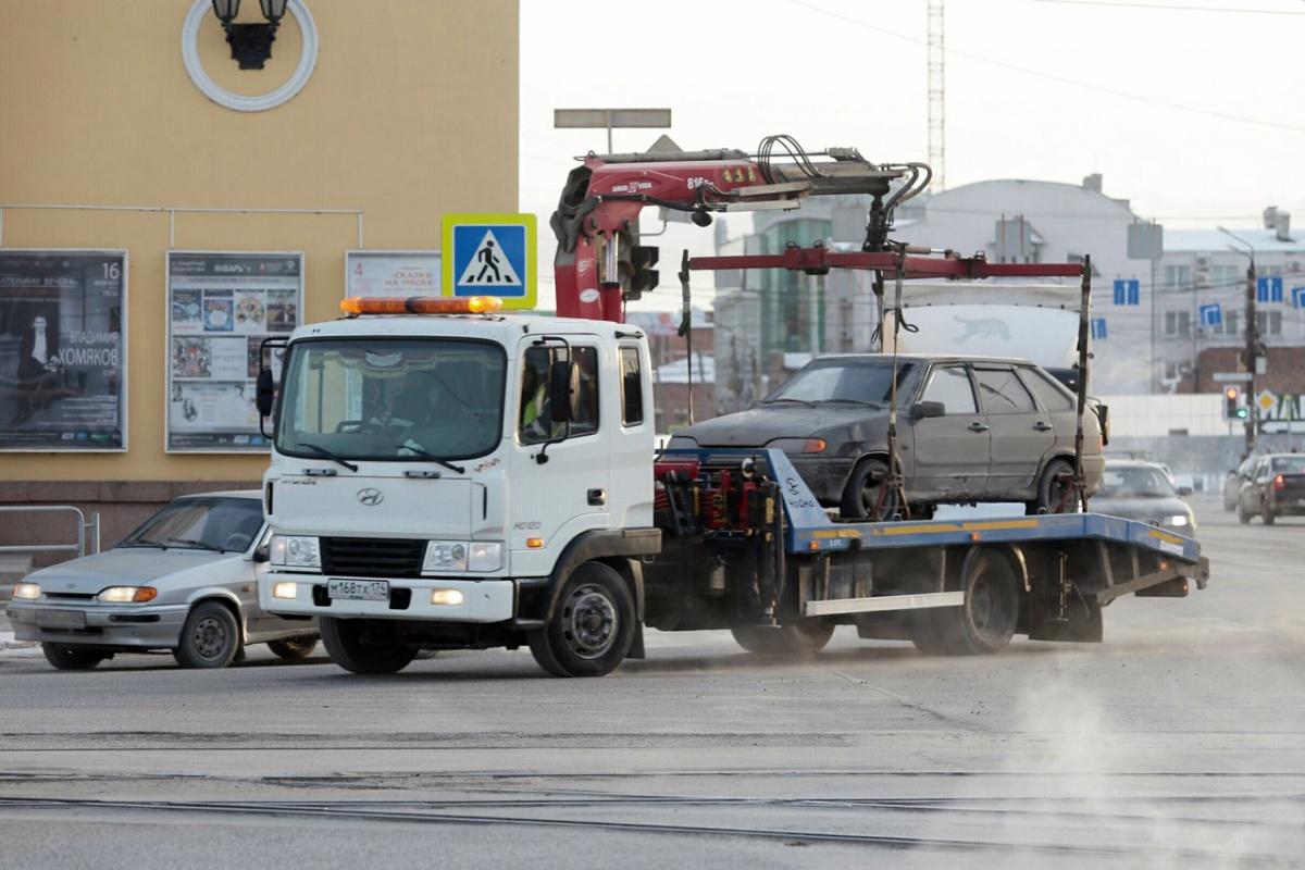 Челябинск поставил эвакуацию автомобилей на поток