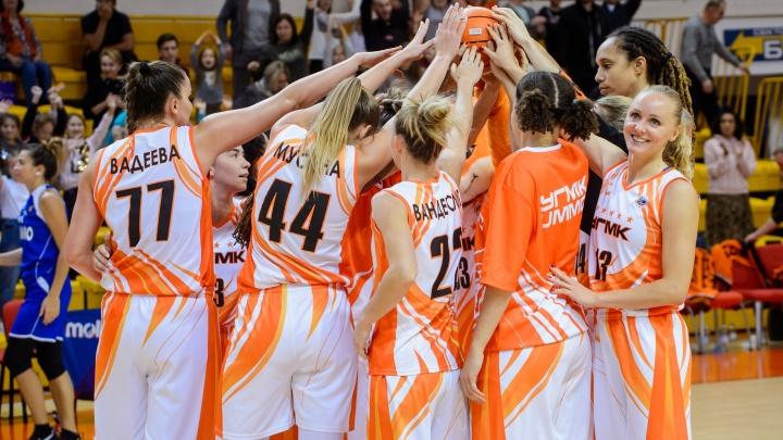 Защищают титул чемпионок: баскетболистки УГМК выиграли первый матч группового этапа Евролиги