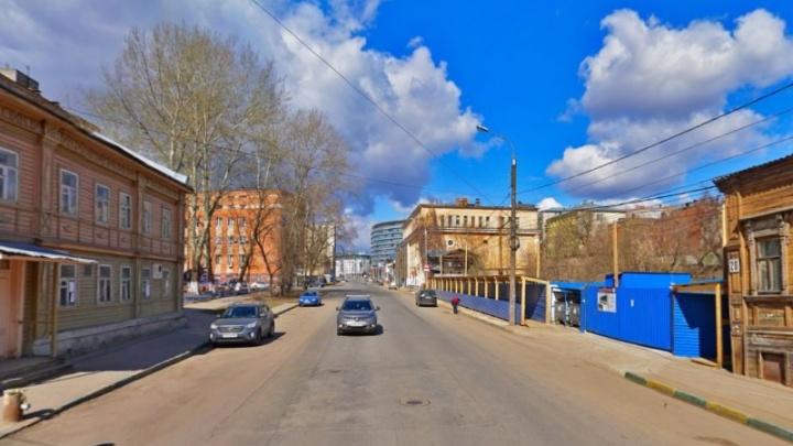 На улице Ковалихинской на месяц перекроют движение транспорта