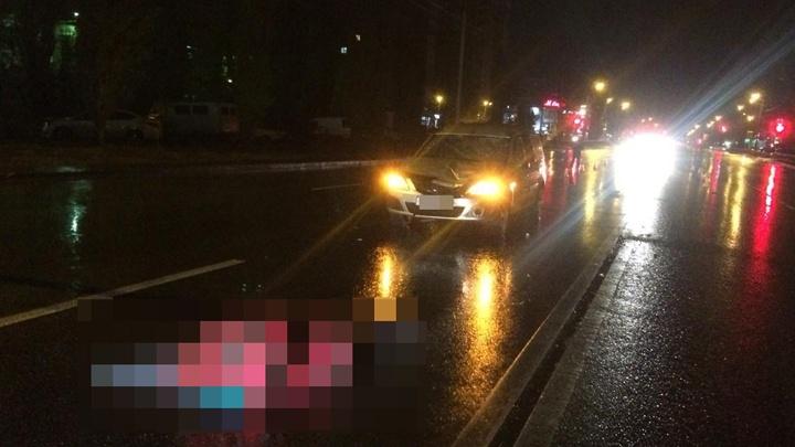 Переходила в неположенном месте: в Уфе водитель «Лады» насмерть сбил пешехода