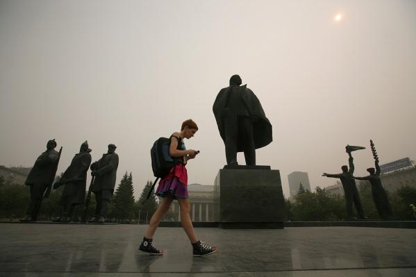 В 2012 году причиной густой дымки в Новосибирске назвали сухую погоду и лесные пожары в Томской области.