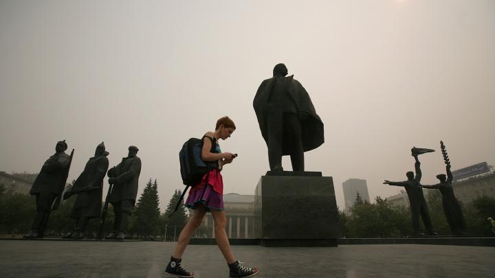Дым прошлого: 10 фото, как Новосибирск переживал страшный смог ровно 7 лет назад