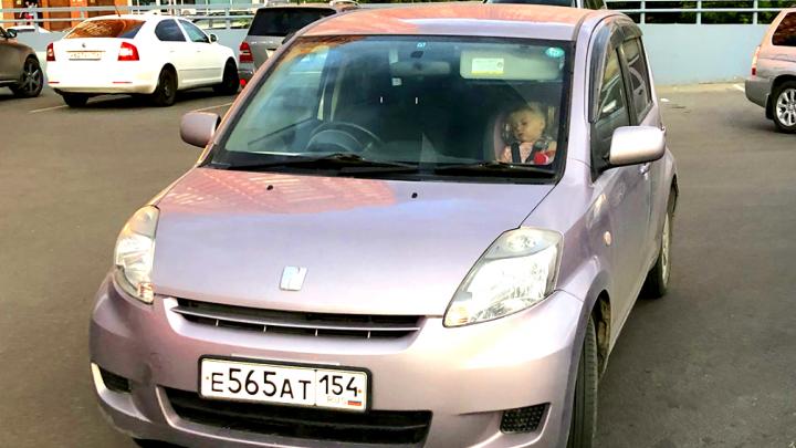 «Я паркуюсь как чудак»: возле «Бахетле» обнаружили оставленную машину с брошенным младенцем внутри